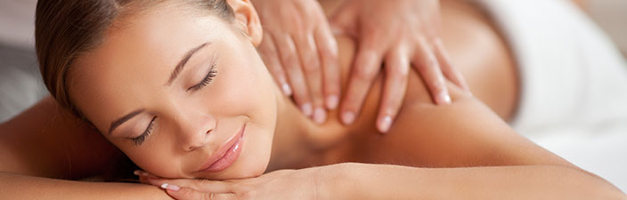 relax with a therapeutic massage at home