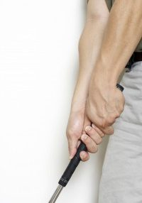 massage can help with gripping your golf club